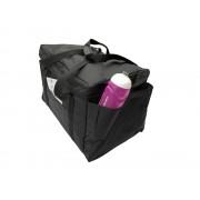 Ételszállító táska fekete vízhatlan sima